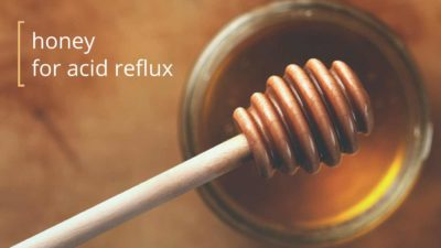Illustration of How To Consume Honey For People With Stomach Acid?