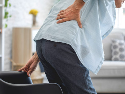 Illustration of Back Pain In The Morning And After Sitting For A Long Time?