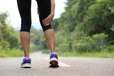 Illustration of Knee Pain That Makes Walking Difficult After Exercise?