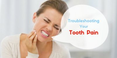 Illustration of Toothache Pain When Pressed And Difficulty Chewing?