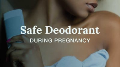 Illustration of Use Of A Deodorant At 4 Weeks Pregnant?