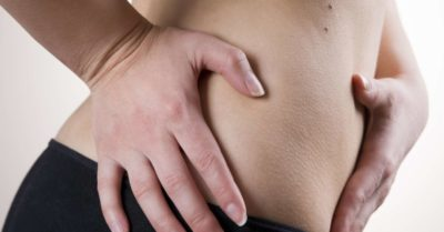 Illustration of Pain In The Lower Abdomen Accompanied By Slight Swelling?