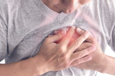 Illustration of Causes And Overcomes Chest Pain Accompanied By Shortness Of Breath?