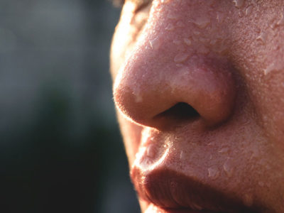 Illustration of The Cause Of Frequent Sweating Of The Nose?