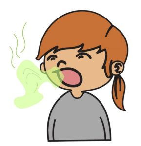 Illustration of Causes Of Bad Breath In Children Aged 5 Years?