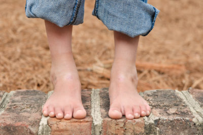 Illustration of The Truth Of The Benefits Of Walking Barefoot In Children?
