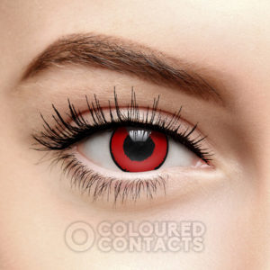 Illustration of Red Eyes Due To Contact Lenses?