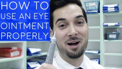 Illustration of How To Use Ointment For Stye?