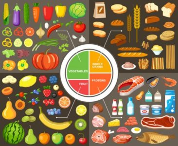 Illustration of Small Food Suitable For Diabetics?