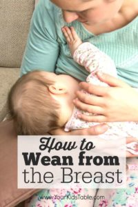 Illustration of How To Wean A 14 Month Old Child?