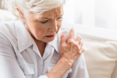 Illustration of Causes Of Shoulder Blade Pain In The Elderly?