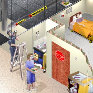 Illustration of How Do You Sterilize The Room Occupied By TB People?