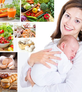 Illustration of A Safe Diet For Breastfeeding Mothers?