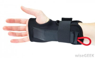 Illustration of What Are The Benefits Of Dressing For Sprained Wrists?