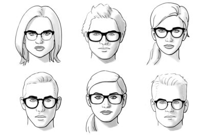 Illustration of What Glasses Are Suitable?
