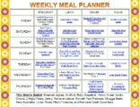 The Child's Meal Schedule?
