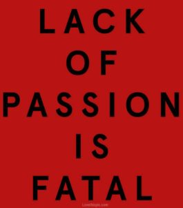 Illustration of Lack Of Passion For Life?
