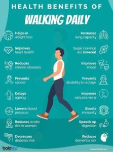 Illustration of What Are The Benefits Of Walking?
