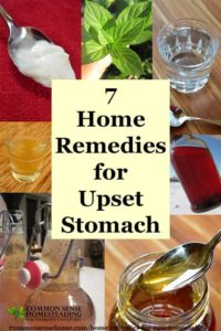 Illustration of Solution For Upset Stomach?