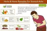 What Is The Cure For Stomach Ache?