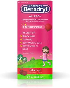 Illustration of The Drug Benacol Diphenhydramine Syrup 60 Ml Is Safe For Babies Aged 6 Months?