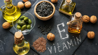 Illustration of Is It True That Vitamin E Triggers Cysts?