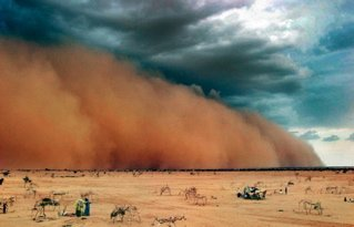 Illustration of The Cause Of Dust Is Like Sand When It Is BAK?