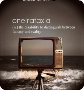 Illustration of It Is Difficult To Distinguish Between Fantasy And Reality?