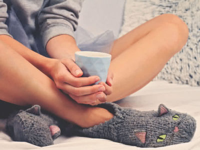 Illustration of What Makes Me Have A Fever But Cold Feet?