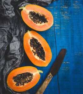 Illustration of Positive And Negative Effects When Consuming Papaya And Milk Simultaneously?