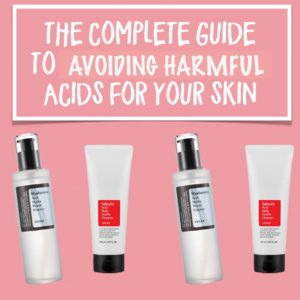 Illustration of The Safety Of Using Cosmetics Containing AHA And BHA For Pregnant Women?