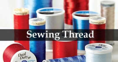 Illustration of Sewing Thread After Operation?