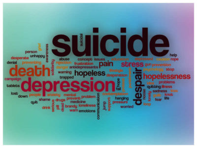 Illustration of Suicide Thought?