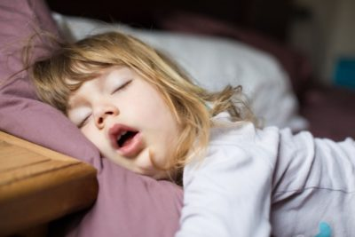 Illustration of Solution For Children Having Trouble Sleeping After Surgery For Brain Paralysis?