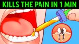 What Is The Cure For A Toothache That Results In An Inability To Chew?