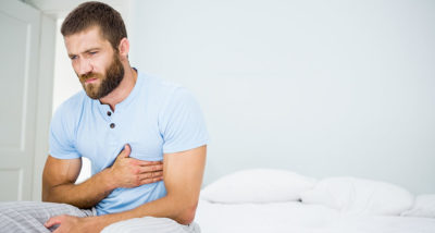 Illustration of Right Chest Pain Especially When Lying Down?