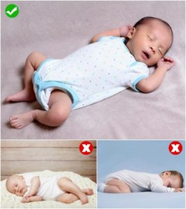 Illustration of The Safety Of Babies Aged 16 Days Sleep On Their Side?