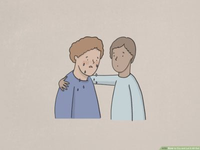 Illustration of How To Deal With People Who Like To Cry All Day?
