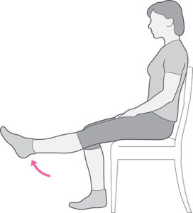 Illustration of Pain In The Right Crab When Lifting The Leg?