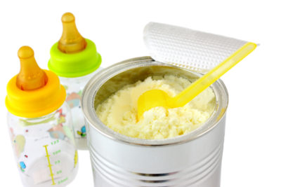 Illustration of Effect Of Mixing Formula Milk On Digestion Of 1 Month Babies?