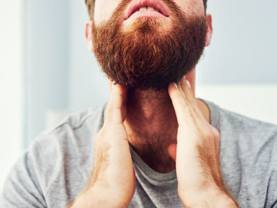 Illustration of Flu Is Accompanied By Swelling Of The Neck And Green Mucus And Cheek Pain?