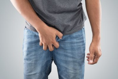 Illustration of Itching Feeling And Large Bumps In The Penis Area?