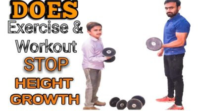 Illustration of Can The Gym Inhibit Height Growth?