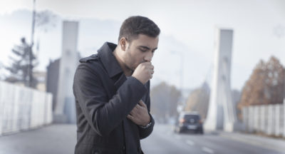 Illustration of A Prolonged Cough That Doesn't Go Away?