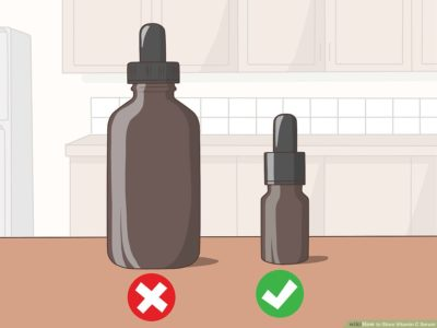 Illustration of Using Vitamin C That Has Been Stored In The Refrigerator?