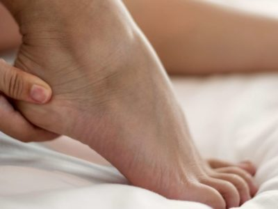Illustration of Heel Pain And Minor Cramps On Waking Up.?