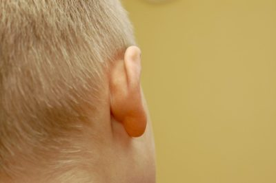 Illustration of Hard Lump Behind The Right Ear?