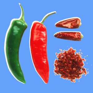 Illustration of The Body Feels Hot Like Being Hit By Chilies?
