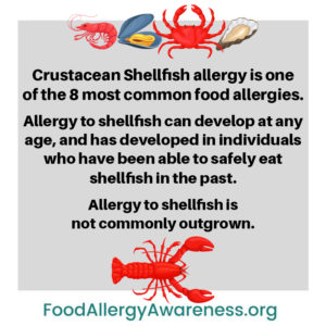 Illustration of About Seafood Food Allergies?
