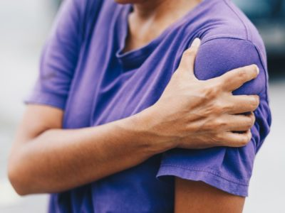 Illustration of Pain And Numbness In The Left Shoulder That Spreads To Hands With High Cholesterol Levels?